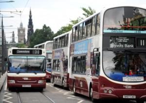 Moisture on buses