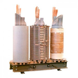 Power transformer coils